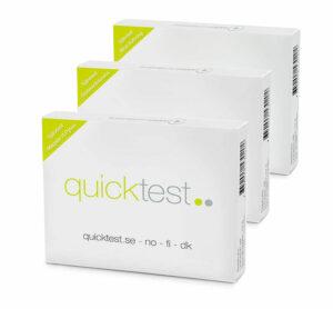 Magkollen - Testa glutenintolerans, magsår och upptäck blod i avföringen - Självtest från Quicktest